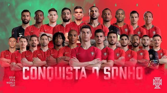 【世界杯名单滚动】葡萄牙23人名单:一方外援上榜