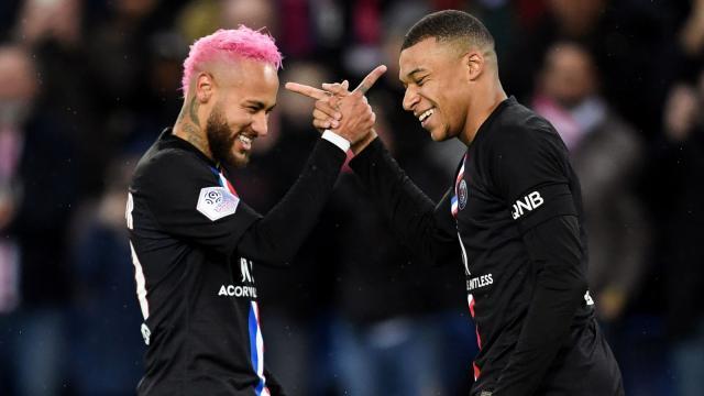 欧冠16强身价最强阵:巴黎双星领衔防线四名红军