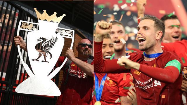 官方:利物浦将在安菲尔德Kop看台举起冠军奖杯