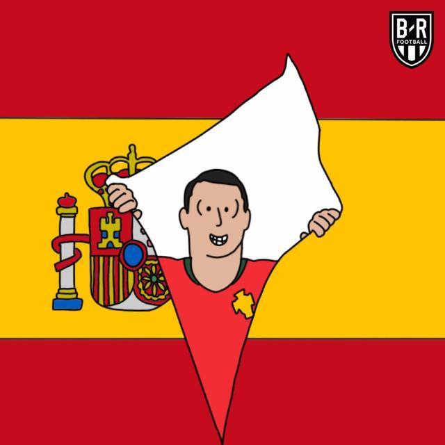 世界杯史上第一位面对西班牙打进3粒进球的球员。.jpg