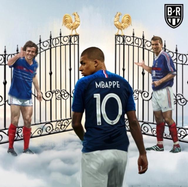 年少成名的姆巴佩已经走进了法国足球的荣誉殿堂!.jpg