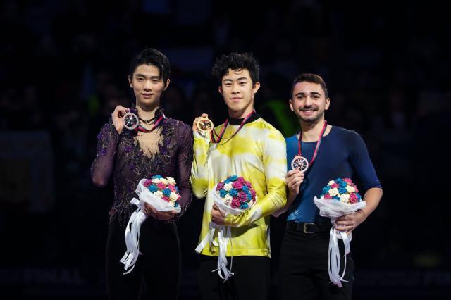 Men Podium GPFSF ITA 2019 International Skating Union ISU-1192509855.jpg