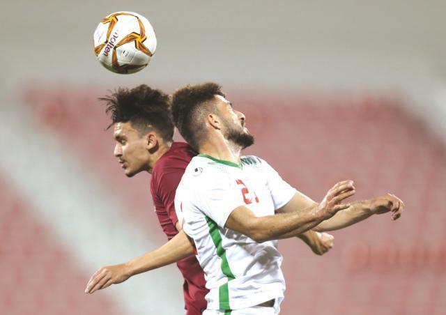 伊朗国奥队在多哈以2比2战平卡塔尔队.jpg