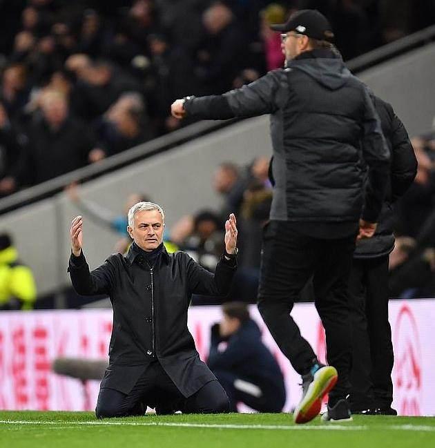 穆里尼奥:进球争议不在手球早说过利物浦会夺冠