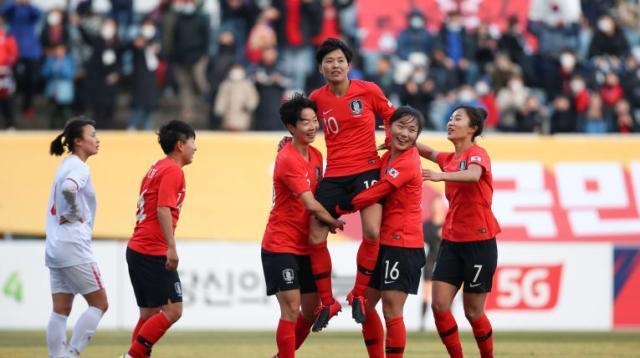 《【天辰娱乐内部招商】池笑然:韩国女足梦想晋级奥运 战中国成败在于1点》