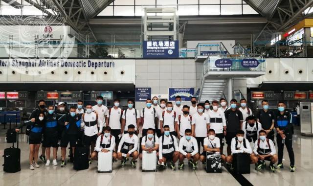 中超正式吹响集结号,升班马青岛黄海成为第一支入驻苏州赛区的球队。.jpg