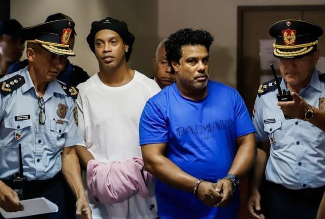 《【天辰直营代理】罗纳尔迪尼奥24号获释 罚款9万美元 保证金还他?》