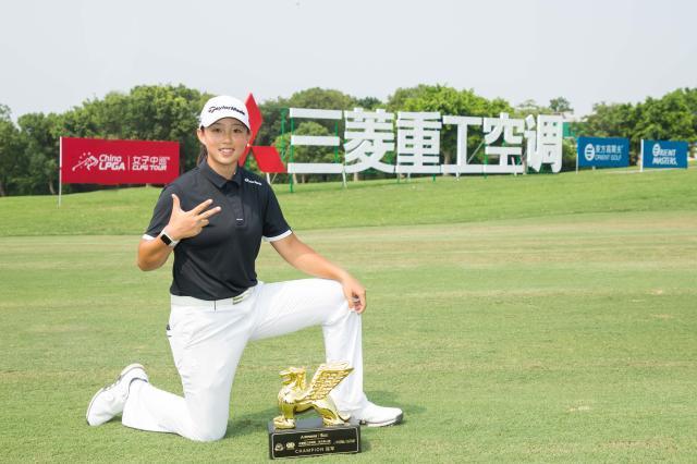 《【天辰平台总代】势不可挡! 殷若宁创高尔夫球员转职业后3连冠纪录》