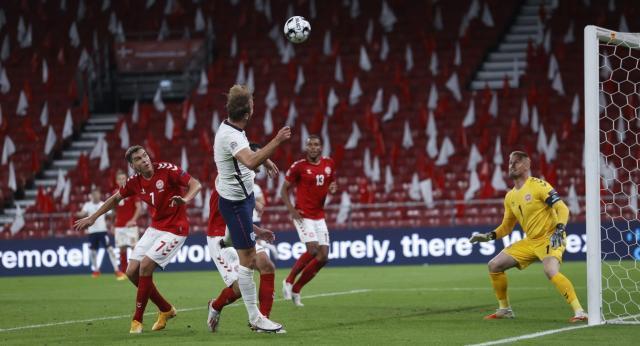《【天辰招商主管】【欧国联】凯恩绝杀被门线解围 英格兰客场0比0丹麦》