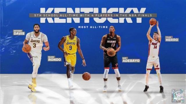 《【天辰代理主管】4位肯塔基校友对战总决赛,他们背后是名校光芒》