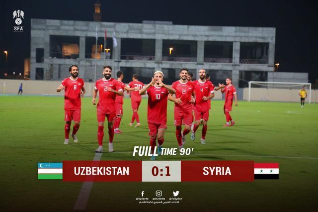 《【天辰代理平台注册】【国足对手】马鲁尔上任首胜 叙利亚热身赛1比0乌兹》