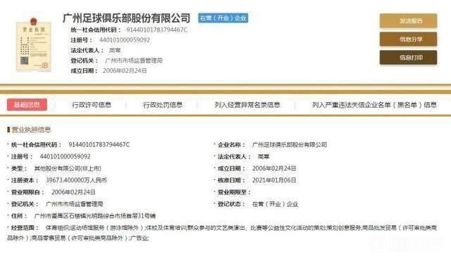 """《【天辰平台总代】律师解读:""""广州足球俱乐部""""企业名不符合相关规定》"""